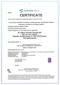BRC-Zertifikat